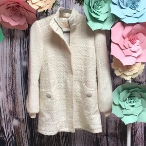 Light cream coat